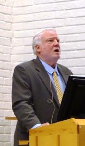 David Bell holder foredrag om ME i Norge