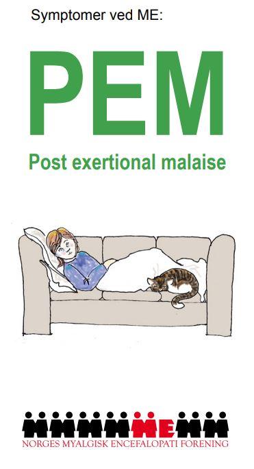 PEM - kardinalsymptom ved ME